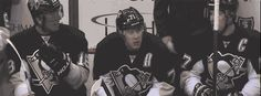 Malkin settles an argument between Neal and Crosby (Click through for gif in motion)