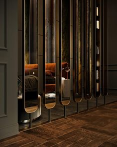 Room divider design ideas - Stylish, modern and decorative room design - Room Divider Design Room, Decor Interior Design, Wall Design, Interior Decorating, Design Design, Screen Design, Floor Design, Divider Design, Partition Design