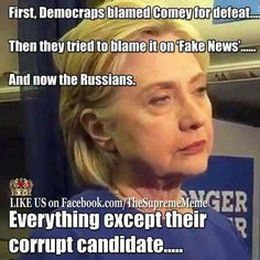 Seriously blows my mind..... your candidate IS a LYING, Corrupt Murderer.... THAT is why she lost!