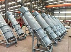 Our cement kiln cylinder cooling fan is axial flow fan. This cooling fan is specially used in cement kilns, and other rotary kiln. Axial Flow Fan, Industrial Fan, Long Pipe, Cement, Fans