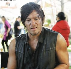 Disgusted Daryl (GIF image) #TWD