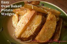 Easy Oven Baked Potato Wedges