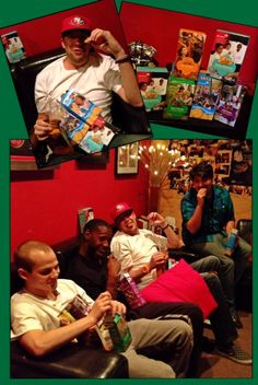 Don't Say I Don't Treat My #Awesome Crew @ +ES AUDIO Recording Studio in L.A. to Anything!:) haha:)      Nothin' like some Good 'Ole #Yummy #GirlScout Cookies to Bring a Smile to Their Faces!:) haha:)     #Rock  On!:) By: #JamminJo 2013
