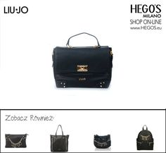 #liujo #hegos #hegosmilano #welovefashion #fashoinforwomen #womenswear #streetfashion #autumn #winter #bag #new #backpack #fashion #black