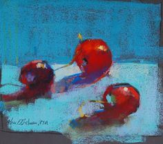 Aline Ordman - Cherries (pastel)