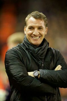 All smiles YNWA Liverpool Football Club, Liverpool Fc, Premier League Soccer, Brendan Rodgers, You'll Never Walk Alone, Soccer Coaching, English Premier League, All Smiles, Coaches