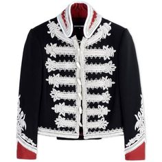 Dsquared2 Blazer ($10,525) ❤ liked on Polyvore featuring outerwear, jackets, blazers, black, dsquared2 and dsquared2 jacket