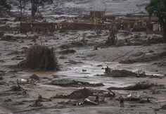 Piden arresto de 7 personas por ruptura de dique en Brasil