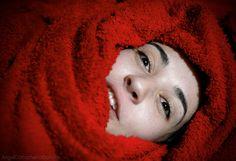 fotos que importan: Rostro en rojo