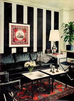 Better Homes and Gardens - January, 1969 1960s Home Decor, Better Homes And Gardens, Home And Garden, Quilts, Blanket, Bed, January, Stream Bed, Quilt Sets