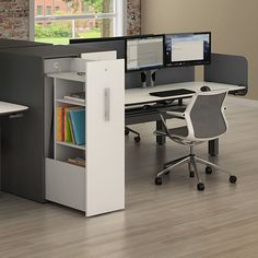 Combine Seven Workbenches with Side Towers to create a truly inspiring workstation for your team.
