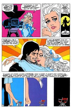 """dirtyriver: """" """"My Heart Broke in Hollywood!"""", art by Jim Steranko, in Our Love Story June 1970 """" Forgotten masterpiece. Storytelling Techniques, Hidden Book, Jim Steranko, Romance Comics, Comic Book Panels, Strange Tales, Bristol Board, Comics Story, Romance And Love"""