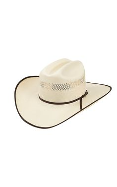 93817f2ffc1 Resistol 10X Chance Natural Straw Bound Edge Cowboy Hat
