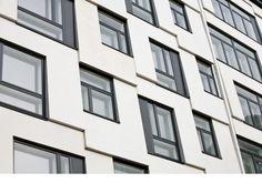 Znalezione obrazy dla zapytania white facade block