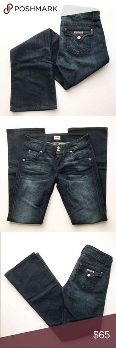 Hudson Jeans Never worn- Hudson bootcut jeans. Super gorgeous dark denim wash. Hudson Jeans Jeans Boot Cut