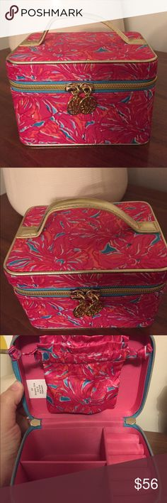 Lilly Pulitzer Flirty Jewelry Case New without tags. Has just been sitting in my closet. No trades and posh only Lilly Pulitzer Accessories