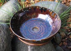 pottery sink basin