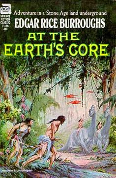 Roy G. Krenkel art - At the Earth's Core