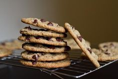 Vegan and Gluten-Free Chocolate Chip Cookies. Here is a Recipe you can make for your hubs @Melodee Prows Valletta