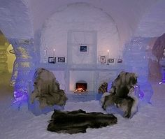Would You Stay in an Ice Hotel?: The Sorrisniva Igloo Hotel in Alta, Norway Igloo Village, Santa's Village, Ice Hotel Norway, Cruise Vacation, Dream Vacations, Norway Viking, Beautiful Norway, Travel Sights, Ice Castles
