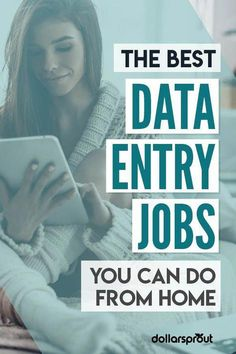 Looking for a new job but don't have extensive experience or a degree? A data entry job may be the perfect fit for you. If you've got an eye for detail, patience, and a willingness to work check out one of these 7 best data entry jobs you can land to make money from home! #makemoneyonline
