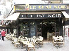 cafe in Montmartre, Paris. Most amazing omelettes in the world.