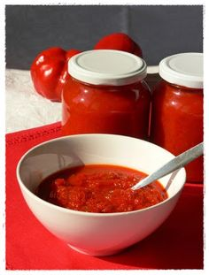 Torte Cake, Ketchup, Jar, Canning, Recipes, Food, Winter, Italian Tomato Sauce, Dips