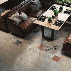 Riga Patchwork Wall and Floor Tile - Riga from Tile Mountain