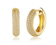 Fashion gold earrings ideas with you.