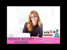 Notaire Français à Boston Massachusetts Notary Service, Public Service, Notary Public, Boston Massachusetts, France, Civil Service, French