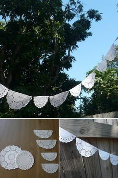Ideas decoracion fiestas infantiles y cumpleaños by Patti Ann Vigus Vintage Garden Parties, Vintage Party, Diy Fest, Baptism Party, Paper Doilies, Mexican Party, Ideas Para Fiestas, Fiesta Party, Diy Party