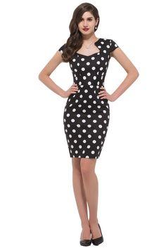 Retro Style Bodycon Vintage Kleid