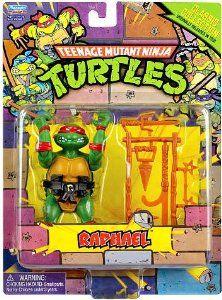 Amazon.com: Teenage Mutant Ninja Turtles Retro Collection 4 Inch Action Figure Raphael: Toys & Games