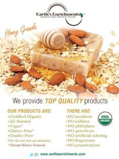 Soap News, Body Bars, Organic Soap, Granola, Cruelty Free, Preserves, Skincare, Honey, Gluten Free