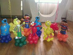 Sesame Street Party Ideas | Images of Heaven Events & Balloons - Centerpieces