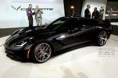 Stingray Corvette with HRE Wheels
