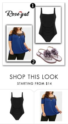 """""""Rosegal # 55"""" by nejrasehicc ❤ liked on Polyvore"""