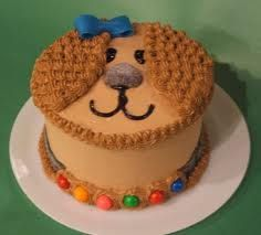 another simple puppy cake