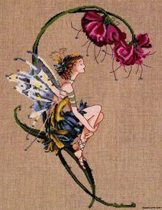 The Bliss Fairy Mirabilia Counted Cross Stitch Pattern Nora Corbett Chart MD89 | eBay