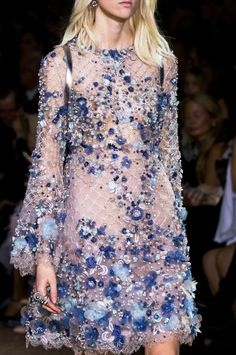 — Details from Elie Saab Haute Couture Spring 2016....
