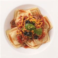 Hearty Beef Ravioli Recipe from Taste of Home – You're only 30 minutes away from this great new pasta dish!