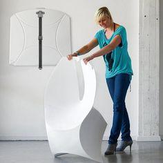 silla portátil de diseño flux chair