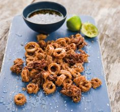 Crispy Five-Fragrance Calamari & Dipping Sauce
