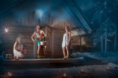 Hot, smoky, primeval... smoke sauna for those who want to cleanse body and soul