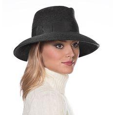 Eric Javits Luxury Fashion Designer Women's Headwear Hat - Wool Kim - Grey