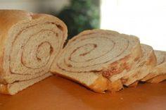 Whole Wheat Cinnamon Swirl Bread