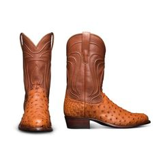 The Wyatt is a handmade, top-quality cowboy boot, crafted from luxurious full-quill ostrich leather, featuring a calfskin shaft and leather sole & heel. Cowboy Boots Square Toe, Ostrich Boots, Western Boots For Men, Mens Gear, Boot Shop, Shoe Boots, Shoes, Leather Heels, Black Boots
