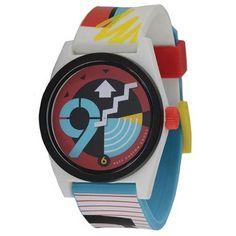 Beatnuts Neff 134 Daily Wild Watch / Armbanduhr, LOGO white - weiß - http://uhr.haus/neff/loco-white-neff-daily-wild-zeigt