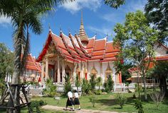 Thai Architecture - Chalong Temple
