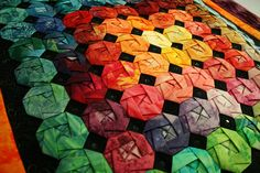 folded fabric quilt